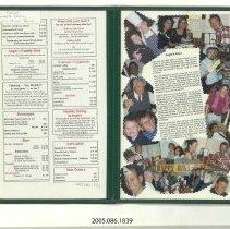 Image of 2005.086.1839 - Menu, Dinner