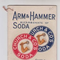 Image of 1989.111.0308 - Arm & Hammer Soda Book of Valuable Recipes