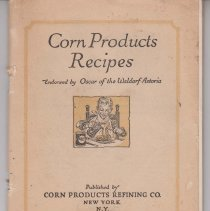 Image of 1989.111.0493 - Corn Products Recipes