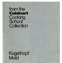 Image of 2012.051.0756 - from the Cuisinart Cooking School Collection: Kugelhopf Mold