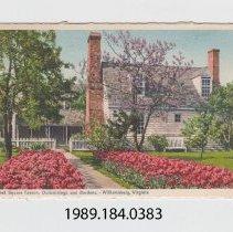 Image of 1989.184.0383 - Market Square Tavern, Williamsburg, Virginia