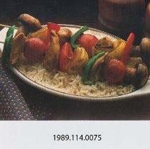 Image of 1989.114.0075 - Marinated Chicken Kabobs