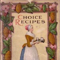 Image of 1989.117.0168 - Choice Recipes