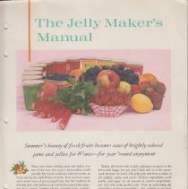 Image of 1989.116.0126 - The jelly maker's manual
