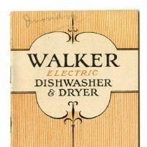 Image of 2014.051.0006 - Walker Electric Dishwasher & Dryer