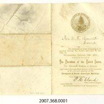 Image of 2007.368.0001 - Invitation