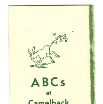 Image of 2013.009.0025 - ABCs at Camelback Inn