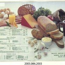 Image of 2005.086.2003 - Menu