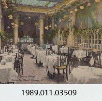 Image of 1989.011.03509 - Italian Garden, Kaiserhol Hotel, Chicago, ILL