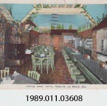 Image of 1989.011.03608 - Coffee Shop, Hotel Francis, La Salle, IL