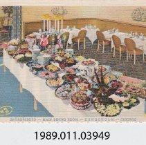 Image of 1989.011.03949 - Smorgasbord- Main Dining Room, Chicago, Illinois