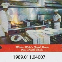 Image of 1989.011.04007 - MIster Mike's Steak House