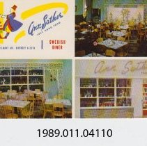 Image of 1989.011.04110 - Ann Sather, Swedish Diner, Chicago, Illinois