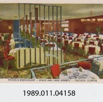 Image of 1989.011.04158 - Fritzel's Restaurant, Chicago, Illinois