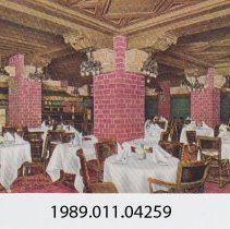 Image of 1989.011.04259 - The German Room, Hotel La Salle, Chicago, Illinois