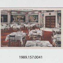 Image of 1989.157.0041 - Egyptian Court, Eastland Hotel, Portland, Maine