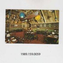 Image of 1989.159.0059 - The Lanai Room, Trader Vic's, Statler Hilton, Boston, Massachusetts