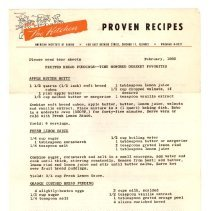 Image of 1989.108.0056 - Proven Recipes