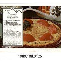 Image of 1989.108.0126 - Calendar Recipes Sheets