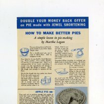 Image of 1989.121.0105 - How to Make Better Pies