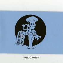 Image of 1989.129.0558 - You Hold the Key Promotional Booklets