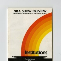Image of 1989.129.0752 - NRA Show Preview Institutions