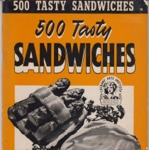 Image of 1989.111.0067 - 500 Tasty Sandwiches