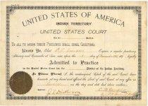 Image of 1974.035.001 - Certificate, Membership