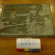 Image of 2011.15.1 - Block, Linoleum