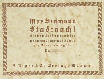 Image of Beckmann, Max -