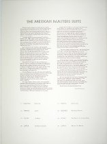 Image of Mexican Masters Suite -