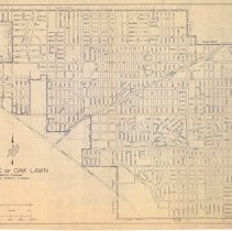 Image of Map of Oak Lawn 1967