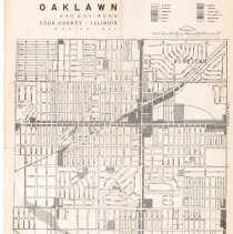 Image of Zoning map of Oak Lawn 1958