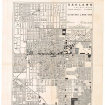 Image of Map of Oak Lawn Land Use 1958