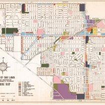 Image of Oak Lawn Zoning Map 1978