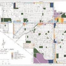 Image of Oak Lawn Zoning Map 1973