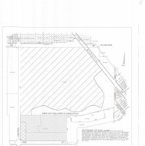 Image of 1996 Oak Lawn Annexation Map - Oak Lawn proposed annexation zoning map of 115th Street and Central Avenue.  This item was published on October 31st, 1996, and there is a small disclaimer near the bottom which waives the village of certain legal responsibilities.