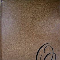"Image of Shield, 1958 - This item is an Oak Lawn Community High School yearbook from 1958.  The cover is texturized in a terracotta color, and features black lettering of ""Shield - 1958"" on the spine and black upper case letters ""O"" and ""L"" in cursive."