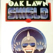 Image of Shield, 1988 - This item is an Oak Lawn Community High School yearbook from 1988.  The cover of the yearbook is white in color with a face emerging from the center.
