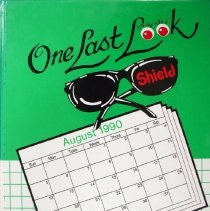 Image of Shield, 1991 - This item is an Oak Lawn Community High School yearbook from 1991.  The cover is green and white in color and features a pair of sunglasses.