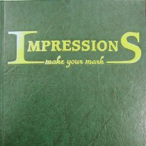 Image of Shield, 2003 - This item is an Oak Lawn Community High School yearbook from 2003.  The cover is dark green in color with gold lettering.