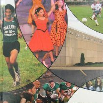 "Image of Shield, 2008 - This item is an Oak Lawn Community High School yearbook from 2008.  The cover is a mix of several different pictures with the words ""Oak Lawn Community high School 2007-2008"" in the bottom right hand corner."