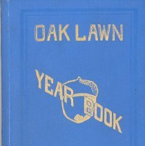 Image of Oak Lawn Year Book, 1912 - This item is an Oak Lawn Baseball Yearbook from 1912.  The book contains a number of photos as well as a short history of Oak Lawn and the Athletic Association.