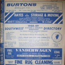 Image of 1968-1969 Southwest Directory