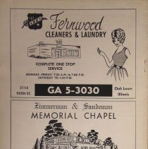 Image of 1968 - 1969 Oak Lawn Independent Directory