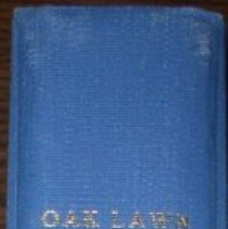 Image of Collection of Oak Lawn Minutes, 1909-1916