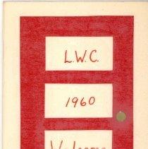Image of 1960 Lynwood Women's Club Directory