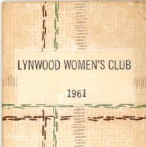 Image of 1961 Lynwood Women's Club Directory
