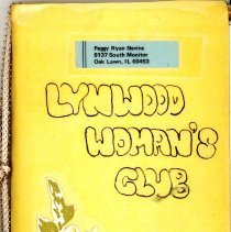 Image of 1965 Lynwood Women's Club Directory