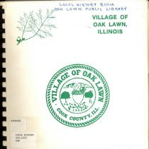 Image of Village of Oak Lawn Annual Report, 1980